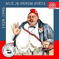 Přední strana obalu CD Historie psaná šelakem - Muž je pánem světa (nahrávky z let 1928-1946)