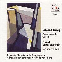 "Adrian Leaper, Karol Szymanowski, Orquesta Filarmónica De Gran Canaria – Grieg: Piano Concerto; Szymanowski: Symphony No. 4 ""Symphonie concertante"""