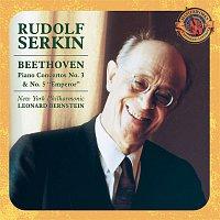 """Rudolf Serkin, New York Philharmonic, Leonard Bernstein – Beethoven: Piano Concerto No. 3 & No. 5 """"Emperor"""" [Expanded Edition]"""