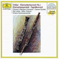 Karl Leister, Berliner Philharmoniker, Rafael Kubelík, Wiener Kammerensemble – Weber: Clarinet & Bassoon Concertos