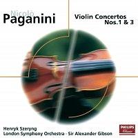 Henryk Szeryng, London Symphony Orchestra, Sir Alexander Gibson – Paganini: Violin Concertos Nos.1 & 3