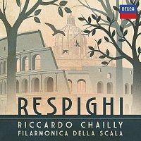 Přední strana obalu CD Respighi