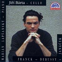 Přední strana obalu CD Franck, Debussy, Janáček: Sonáty pro violoncello a klavír