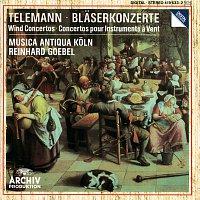 Přední strana obalu CD Telemann: Wind Concertos