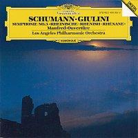 """Přední strana obalu CD Schumann: Symphony No.3 In E Flat Major """"Rhenish"""", Op. 97;""""Manfred"""" Overture, Op. 115"""