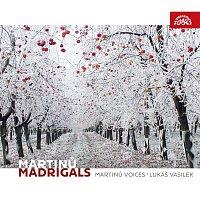 Přední strana obalu CD Martinů: Madrigaly