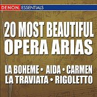 Přední strana obalu CD 20 Most Beautiful Opera Arias