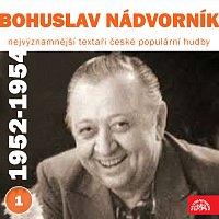 Různí interpreti – Nejvýznamnější textaři české populární hudby Bohuslav Nádvorník I. (1952-1954)