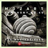 Přední strana obalu CD The Masterpieces - Mozart: Symphony No. 40 in G Minor, K. 550