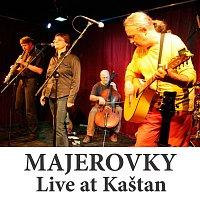 Přední strana obalu CD Live at Kaštan