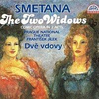 Přední strana obalu CD Smetana: Dvě vdovy. Komická opera o 2 dějstvích