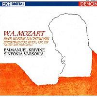 Emmanuel Krivine, Sinfonia Varsovia, Wolfgang Amadeus Mozart – W.A. Mozart: Eine Kleine Nachtmusik, Divertimentos & Adagio and Fuge
