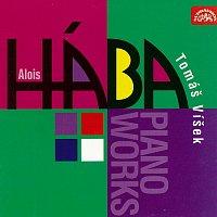 Přední strana obalu CD Hába: Klavírní skladby