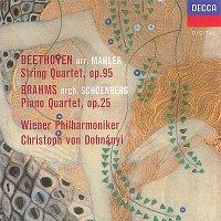 Wiener Philharmoniker, Christoph von Dohnányi – Beethoven (arr.Mahler): String Quartet No.11 / Brahms (orch.Schoenberg): Piano Quartet No.1