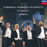 Přední strana obalu CD The Three Tenors - In Concert - Rome 1990