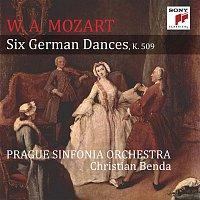 Přední strana obalu CD Mozart: Six German Dances, K. 509