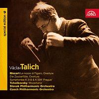 Přední strana obalu CD Talich Special Edition 9. Mozart: Předehry (Figarova svatba, Kouzelná flétna), Symfonie č. 33 a 38 - Čajkovskij: Suita č. 4