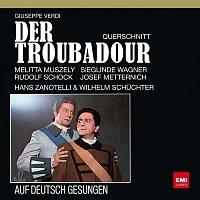 Josef Metternich, Melitta Muszely, Sieglinde Wagner, Rudolf Schock, Berliner Symphoniker, Hans Zanotelli – Verdi auf Deutsch: Der Troubadour