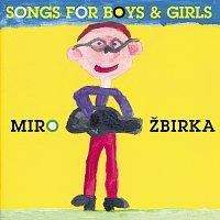 Přední strana obalu CD Songs for boys and girls