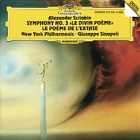Přední strana obalu CD Scriabin: Symphonies Nos. 3 & 4
