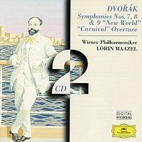 """Přední strana obalu CD Dvorák: Symphonies Nos. 7, 8 & 9 """"New World"""" · """"Carnival"""" Overture"""