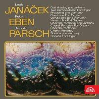 Přední strana obalu CD Varhanní skladby (Leoš Janáček, Petr Eben, Arnošt Parsch)