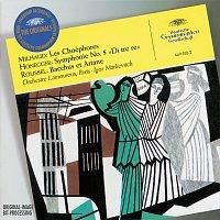 """Orchestre des Concerts Lamoureux, Igor Markevitch – Milhaud: Les Choéphores / Honegger: Symphony No.5 """"Di tre re"""" / Roussel: Bacchus et Ariane"""