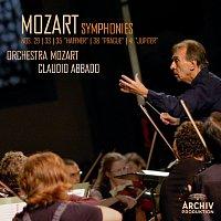 "Orchestra Mozart, Claudio Abbado – Mozart: Symphonies Nos. 29, K.201; 33, K.319; 35, K.385 ""Haffner""; 38, K.504 ""Prague""; 41, K.551 ""Jupiter"""