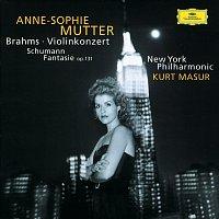 Přední strana obalu CD Brahms: Violin Concerto In D Major, Op. 77 / Schumann: Fantasy For Violin And Orchestra In C Major, Op. 131