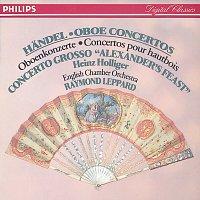 """Přední strana obalu CD Handel: Oboe Concertos Nos.1-3/Concerto Grosso """"Alexander's Feast"""" etc."""