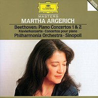 Martha Argerich, Philharmonia Orchestra, Giuseppe Sinopoli – Beethoven: Piano Concertos No.1 Op.15 & No.2 Op.19 – CD