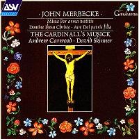 Přední strana obalu CD Merbecke: Missa Per arma iustitie etc.