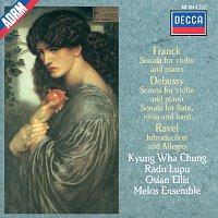 Kyung Wha Chung, Radu Lupu, Osian Ellis, The Melos Ensemble Of London – Debussy / Franck / Ravel: Sonata for Flute, Viola & Harp / Sonata for Violin & Piano etc.