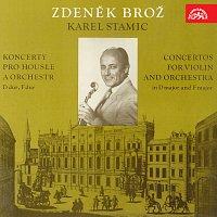 Zdeněk Brož – Stamic: Koncerty pro housle a orchestr