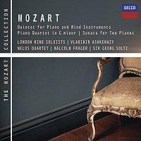 Různí interpreti – Mozart: Piano & Wind Quintet, Piano Quartet No.1 etc