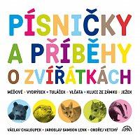 Václav Chaloupek, Ondřej Vetchý, Jaroslav Samson Lenk – Písničky a příběhy o zvířátkách - Komplet 2CD