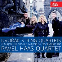 "Pavel Haas Quartet – Dvořák: Smyčcové kvartety G dur, op. 106 a F dur, op. 96 ""Americký"""
