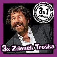 Přední strana obalu CD 3x Zdeněk Troška