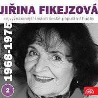 Přední strana obalu CD Nejvýznamnější textaři české populární hudby Jiřina Fikejzová 2 (1968 - 1975)