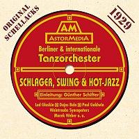 Přední strana obalu CD Tanzorchester 1929 Schlager & Swing - Schellacks