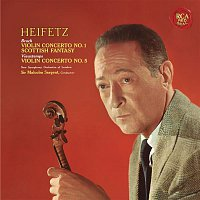 Jascha Heifetz, Max Bruch, Sir Malcolm Sargent – Bruch: Violin Concerto No. 1 in G Minor, Op. 26 & Scottish Fantasy, Op. 46 - Vieuxtemps: Violin Concerto No. 5 in A Minor, Op. 37 - Heifetz Remastered