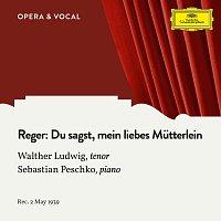 Walther Ludwig, Sebastian Peschko – Reger: Du sagst, mein liebes Mutterlein
