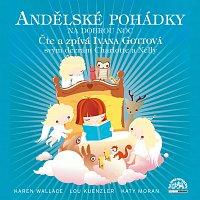 Přední strana obalu CD Andělské pohádky /Wallace, Kuenzler, Moran/