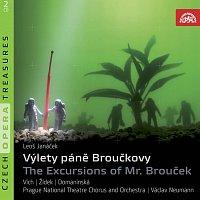 Přední strana obalu CD Janáček: Výlety pana Broučka. Opera o 2 částech