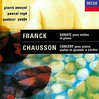 Pascal Rogé, Pierre Amoyal, Quatuor Ysaye – Chausson: Concerto for Piano, Violin & String Quartet / Franck: Violin Sonata