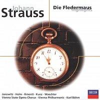 Gundula Janowitz, Renate Holm, Wolfgang Windgassen, Eberhard Wachter, Karl Bohm – Strauss, J. II: Die Fledermaus - highlights