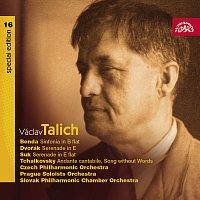 Česká filharmonie, Václav Talich – Talich Special Edition 16. Benda: Sinfonia in B - Dvořák & Suk: Smyčcové serenády - Čajkovskij: Andante cantabile