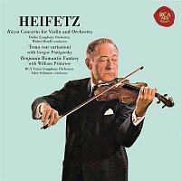 Gregor Piatigorsky, Miklós Rózsa, Chamber Orchestra – Rózsa: Violin Concerto, Op. 24 & Sinfonia concertante, Op. 29 - Benjamin: Romantic Fantasy - Heifetz Remastered
