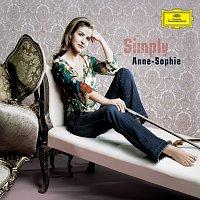 Přední strana obalu CD Simply Anne-Sophie