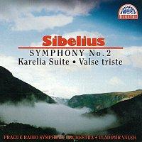 Symfonický orchestr Čs. rozhlasu v Praze/Vladimír Válek – Sibelius: Symfonie č. 2 D dur, Karélia, Valse Triste